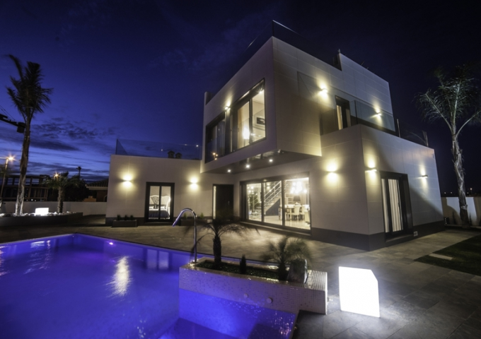 Villa / Semi detached - New Build - Orihuela Costa - Campoamor