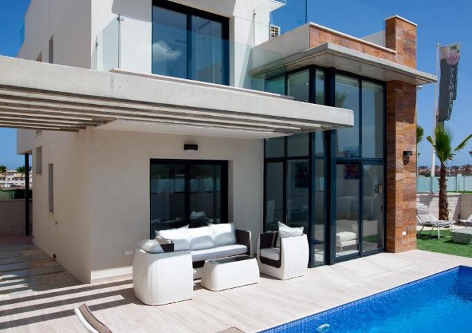 Villa / Semi detached - New Build - Orihuela Costa - Lomas de Cabo Roig