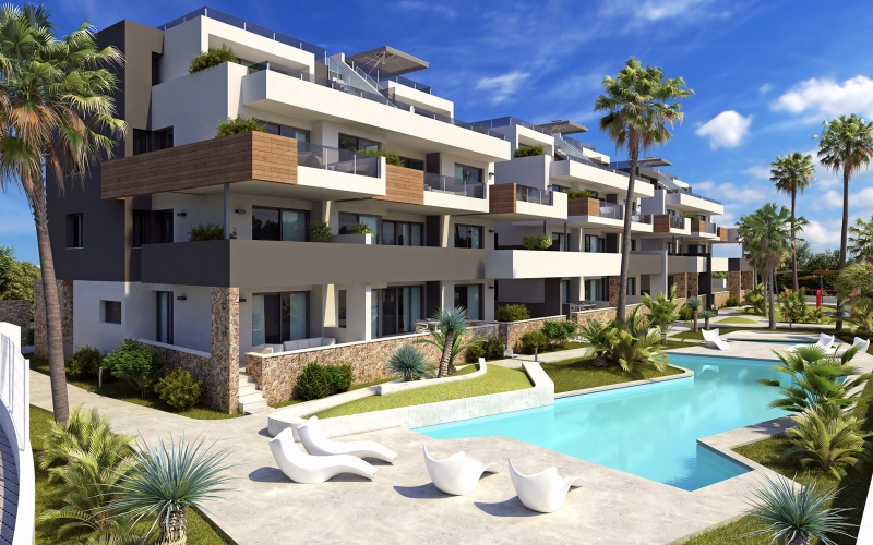 Apartment/Bungalow - New Build - Orihuela Costa - Los Altos