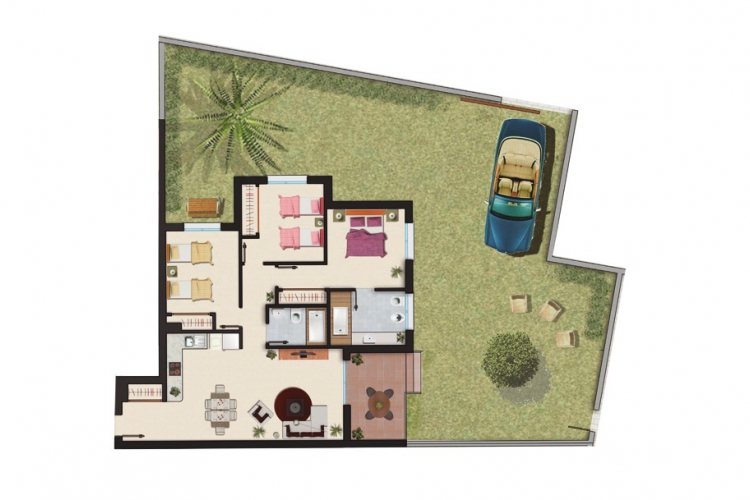 New Build - Apartment/Bungalow - Ciudad Quesada
