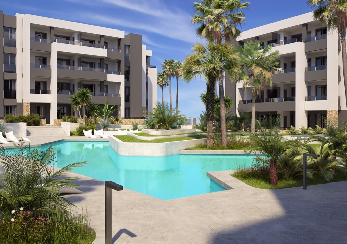 Apartment/Bungalow - New Build - Orihuela Costa - Villamartin