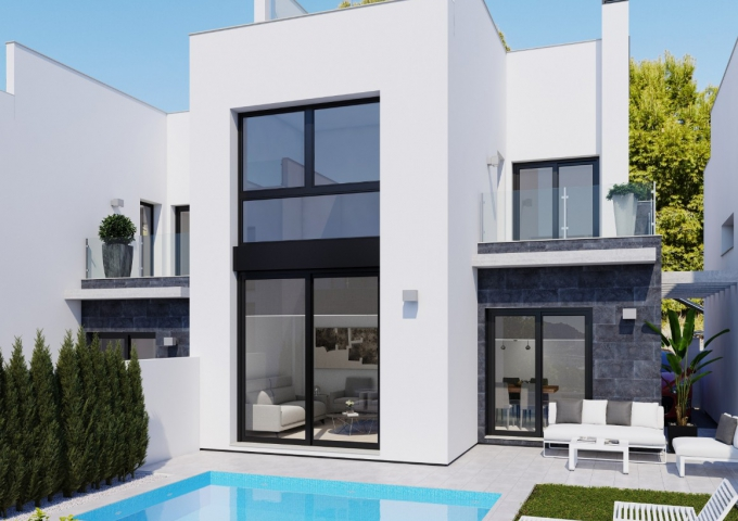 Villa / Semi detached - New Build - Orihuela Costa - Villamartin
