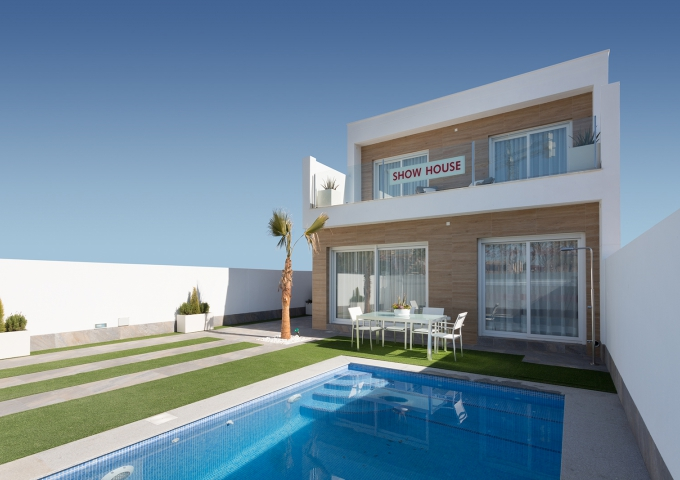 Villa / Semi detached - New Build - San Pedro del Pinatar - Centro